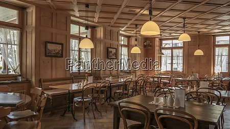 swiss restaurant interior