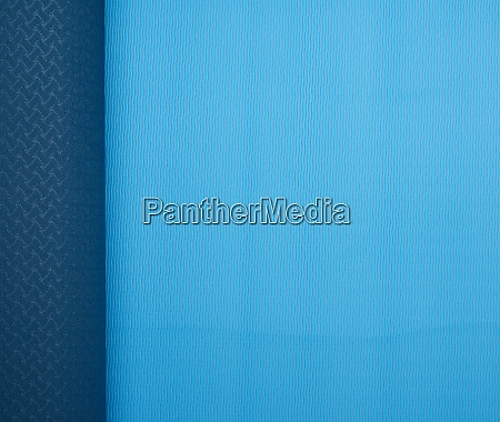 neoprene blue twisted mat sports equipment