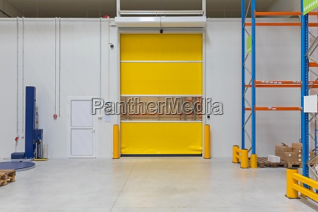 automated warehouse door