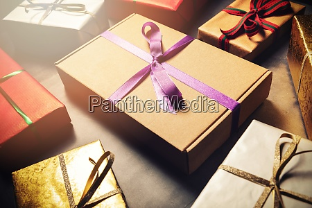 gift wrapping service wrapped present