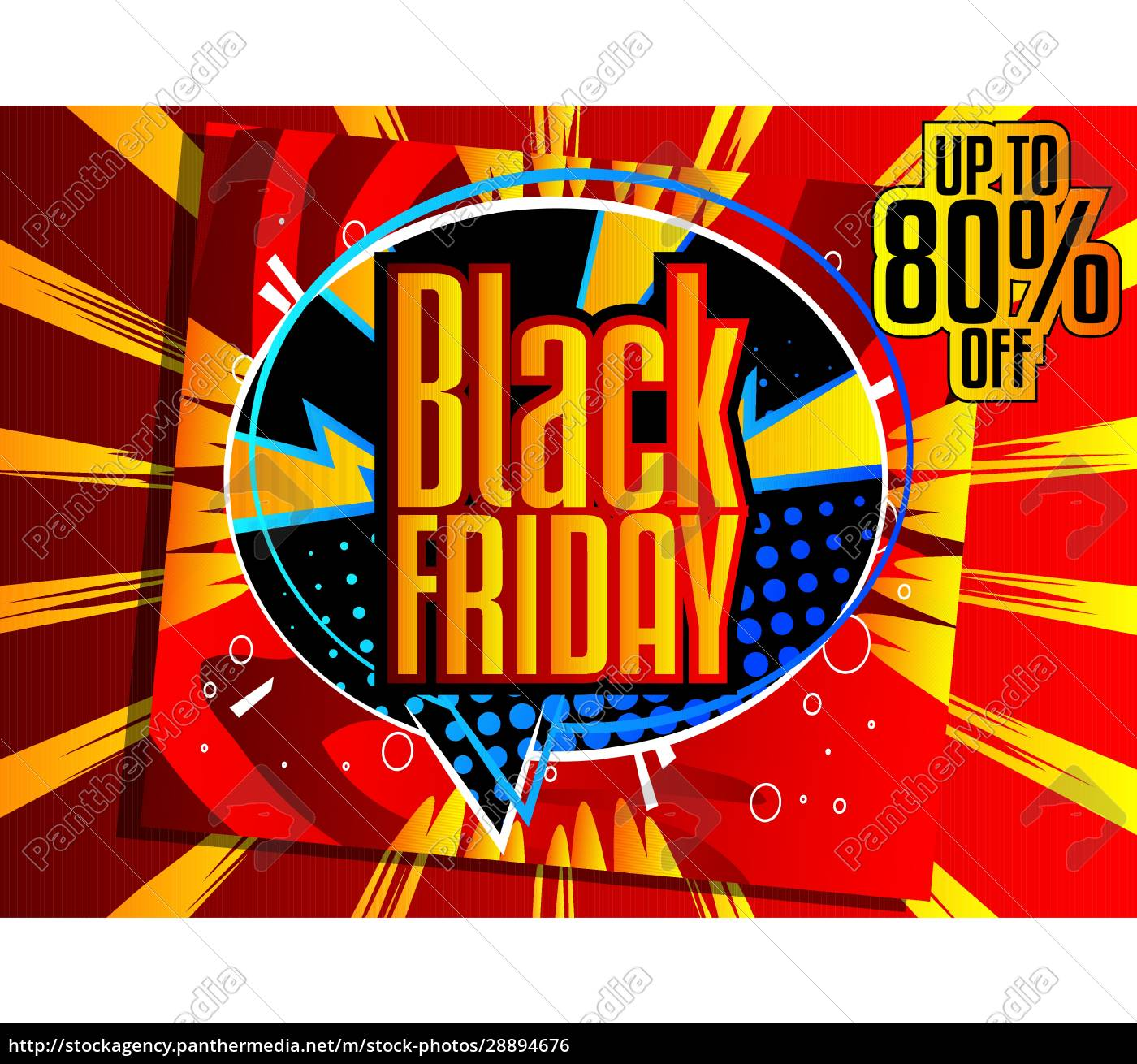 comic, book, black, friday, sale, poster - 28894676
