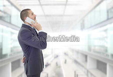 worried business man