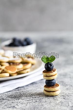 tiny pancakes for breakfast mini pancakes