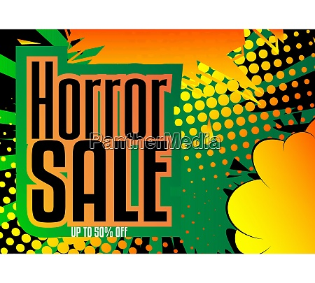 comic book halloween sale social media