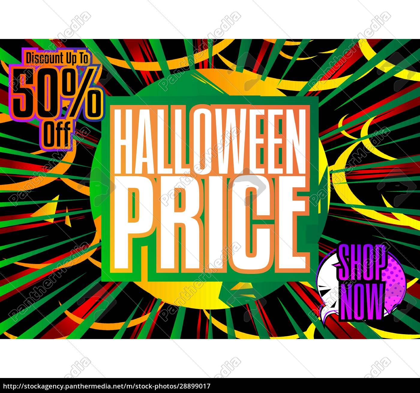 comic, book, halloween, sale, social, media - 28899017