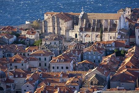 croatia dubrovnik old town architecture