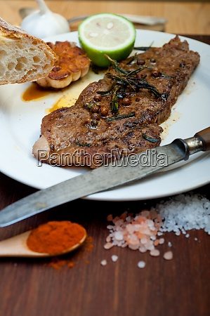 roasted grilled ribeye beef steak
