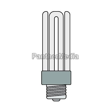 energy saving light bulb icon