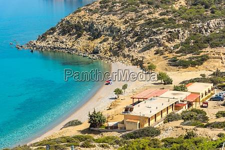 the korfos beach on gavdos
