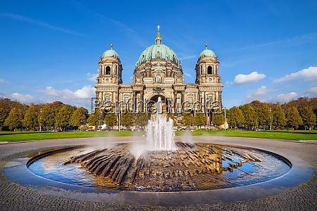 the famous berlin cathedral unde a