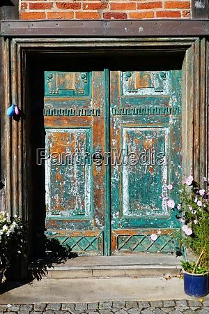 historical door handle