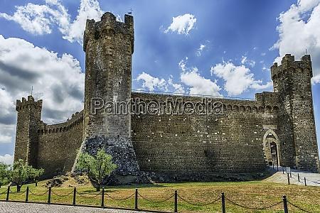 medieval italian fortress iconic landmark in