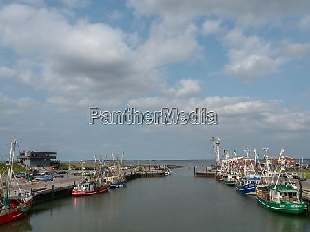 harbor at the north sea