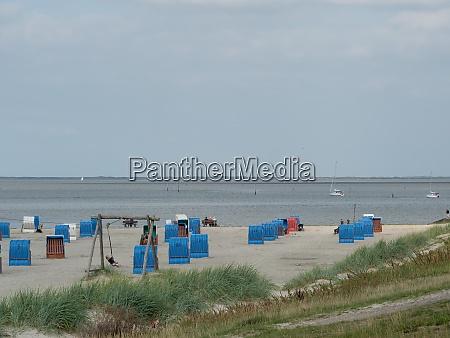 dornumersiel at the german north sea