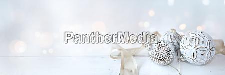white christmas decoration background