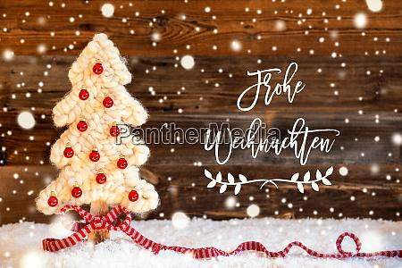 fabric christmas tree ball frohe weihnachten