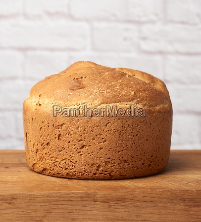 baked round bread in an electric