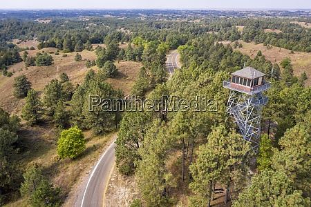 lookout tower in nebraska national forest