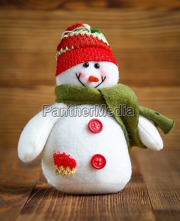 christmas doll snowman with hat