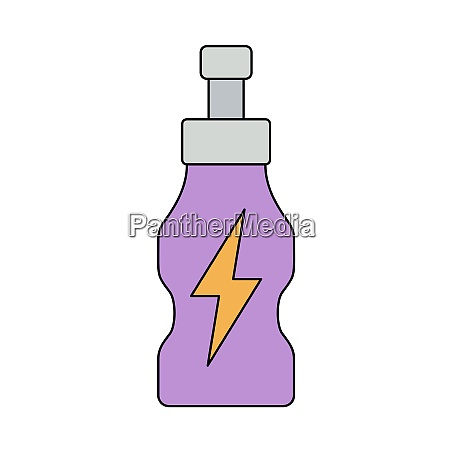 icon of energy drinks bottle