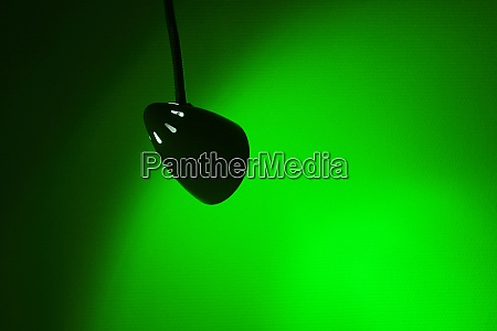 green spot light background
