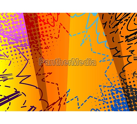 comic book abstract dirty colored background