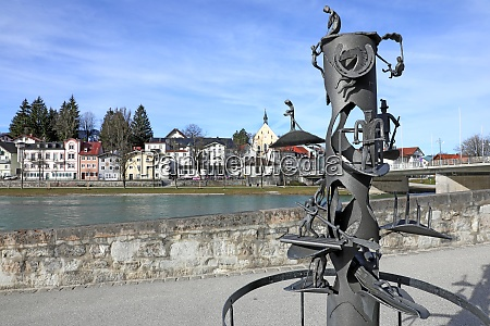 monument to the isar raftsmen in