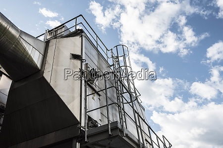 industrial steel construction and industrial architecture