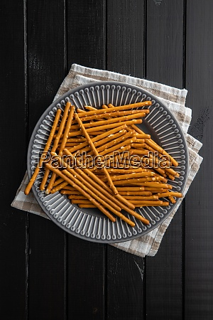 salty sticks crunchy pretzels