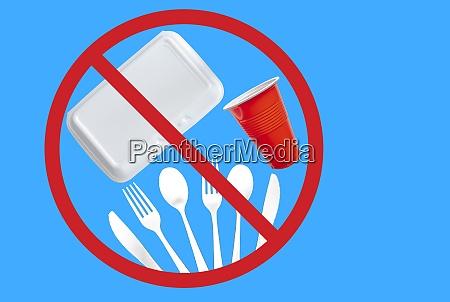 single use plastic cutlery styrofoam takeaway