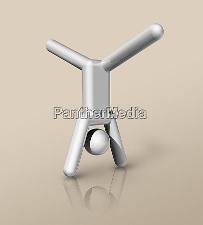 gymnastics artistic 3d icon olympic sports