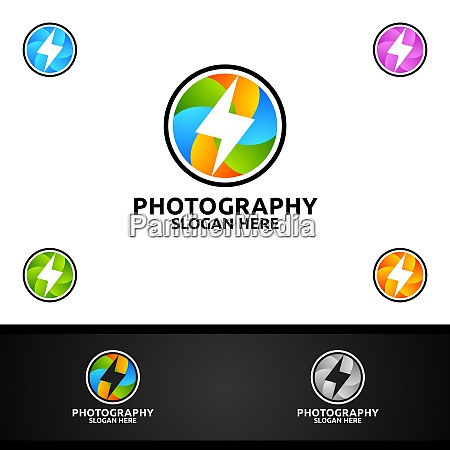 fast speed camera photography logo