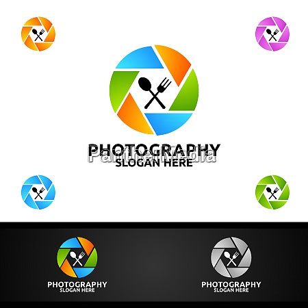 food camera photography logo
