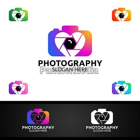 love camera photography logo