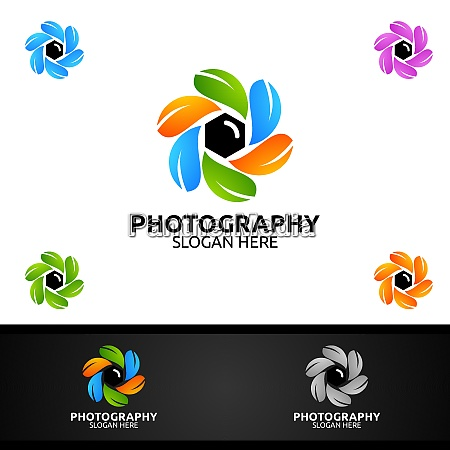 nature camera photography logo