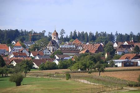 view of the town of neuhausen