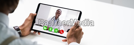 online video consultation with doctor patient