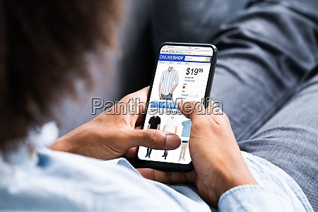 african american ecommerce online shopping