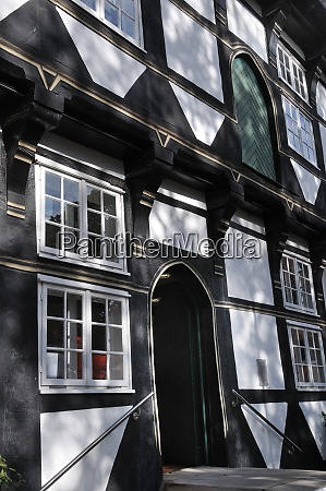 half timberes house abbeyb in wunstorf
