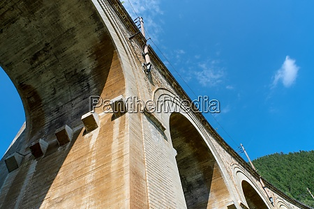 viaduct over the adlitzgraben on the