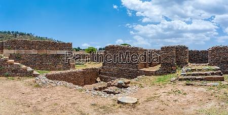 ruins of aksum axum civilization ethiopia
