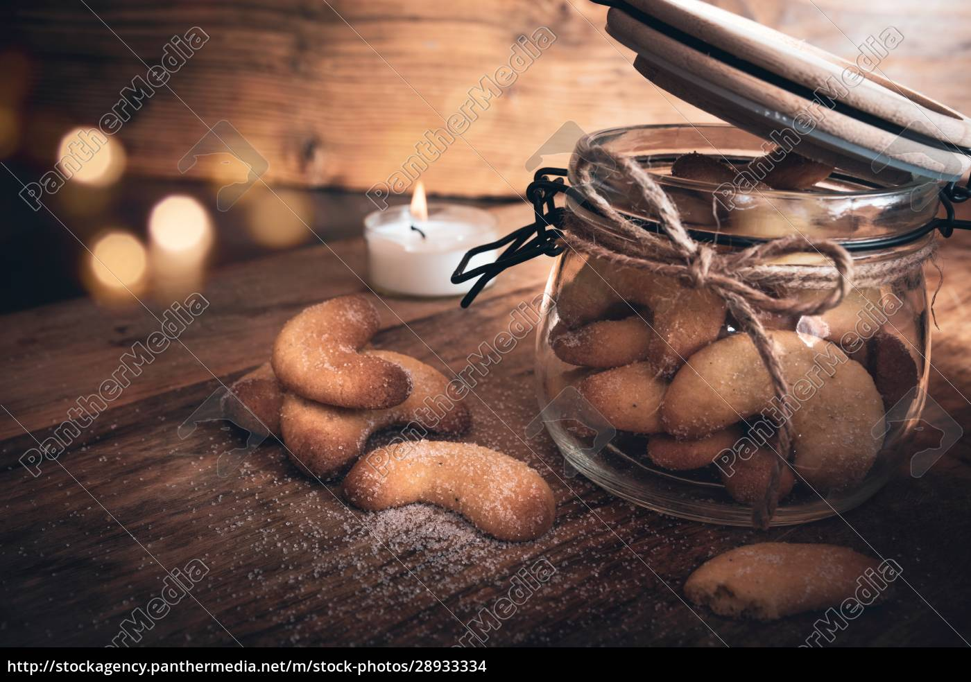 christmas, pastries, vanilla, crescents - 28933334