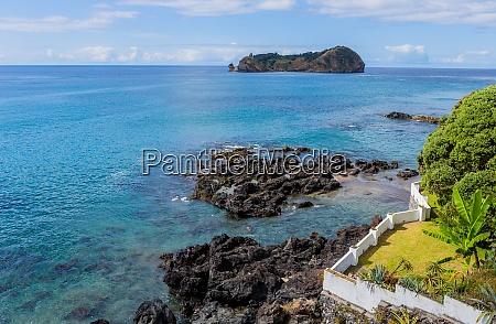 volcanic islet of vila franca do