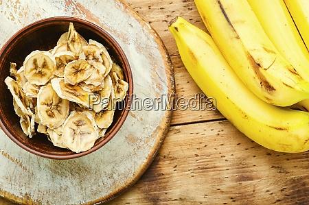 delicious dried bananas