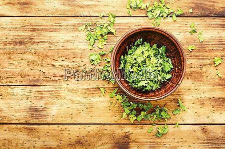 dried parsley spice