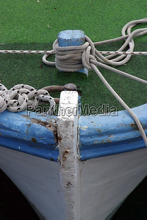 rope of boat knotting