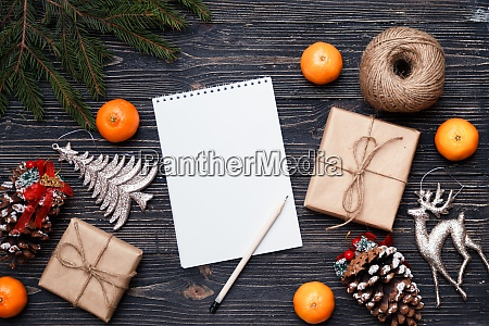 christmas time concept gifts presents and