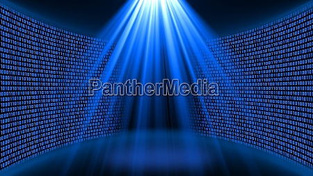 abstract data flow background bright
