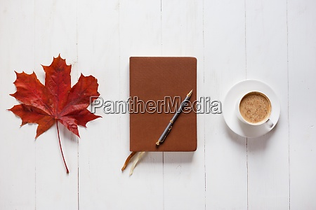 the concept of autumn mood morning