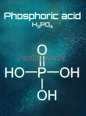 chemical formula of phosphoric acid on